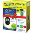картинка Глюкометр ONE TOUCH SELECT PLUS FLEX (50 тест-полосок)